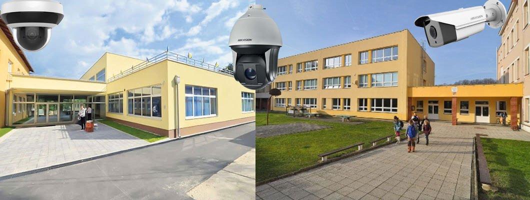 Povećavanje sigurnosti u školama pomoću video nadzora