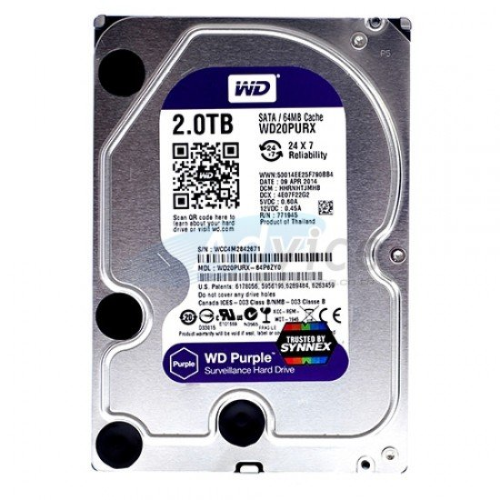 HDD 4 TB Western Digital Purple