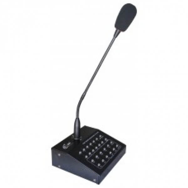 Zone Paging Mikrofon Ce-8010R Oprema za ozvučenje Ambijentalno ozvučenje