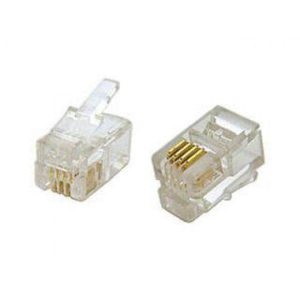 Telefonski Konektor 6Pc-4C Rj11 Telefonski priključci Konektori i priključci