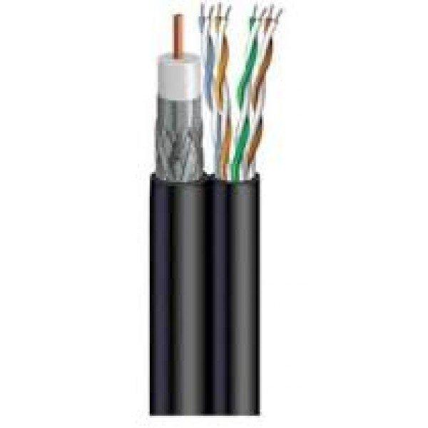 Koaksijalni Kabal Rg59 Utp Cat5 305M Koaksijalni kablovi Komunikacioni kablovi