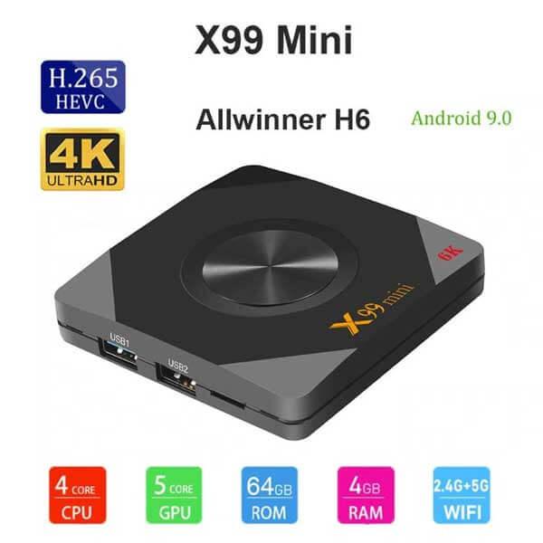 Android Box X99 mini