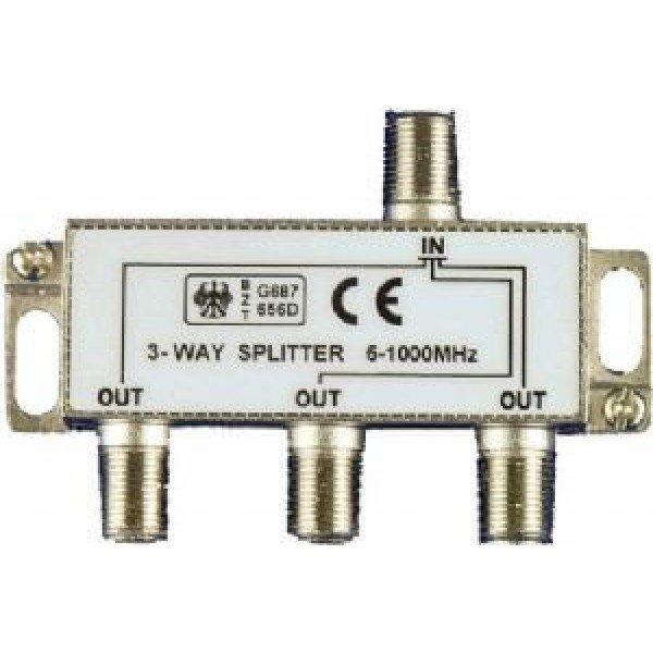 Spliter 1/3 5-1000 Mhz Razdelnici Antene i oprema