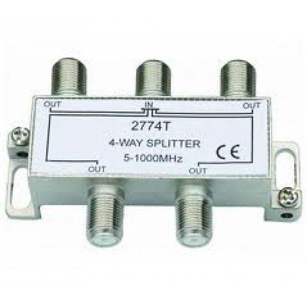 Spliter 1/4 5-1000 Mhz Razdelnici Antene i oprema