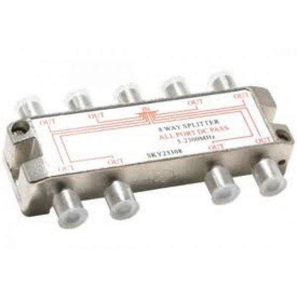 Spliter 1/8 5-1000 Mhz Razdelnici Antene i oprema