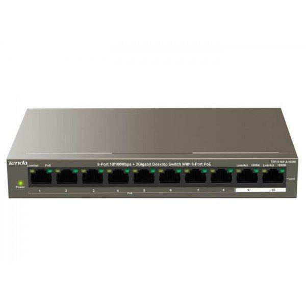 Tef1110P-8-102W Ethernet PoE svičevi Mrežna oprema