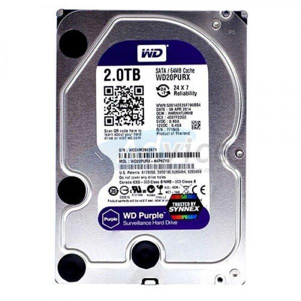 Hdd 3Tb Western Digital Purple Hard diskovi Video nadzor