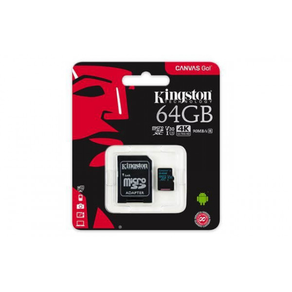 KINGSTON UHS-IU3 microSDXC 64GB adapter Hard diskovi Video nadzor