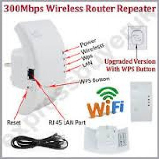 Wireless-N Wifi Repeater A